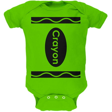 Halloween Crayon Costume Soft Baby One Piece - Penny Crayon Costume