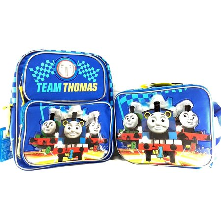 "the Train Boys' No. 1 16"" Backpack W/Matching Lunch Bag, zipperedWalmartpartment By Thomas"