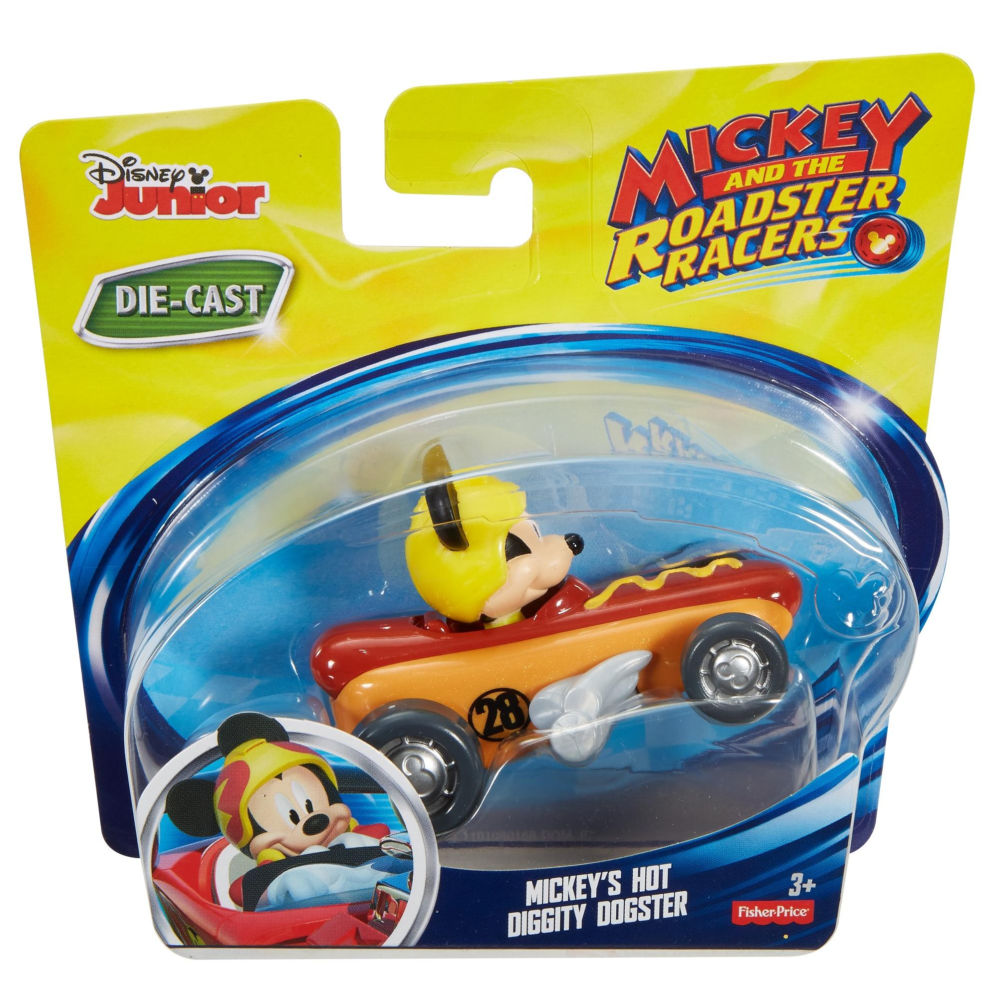 Fisher-Price Disney Mickey /& the Roadster Racers Mickeys Hot Diggity Dogster
