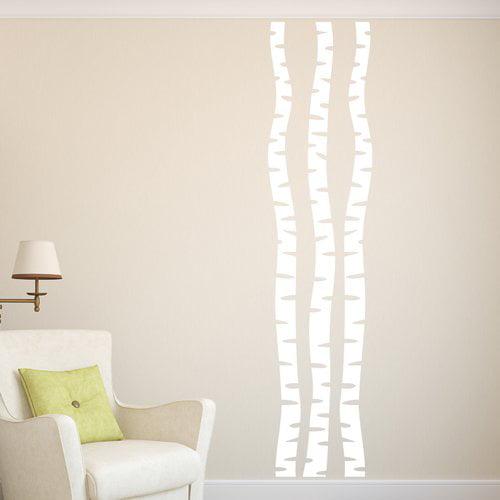 Ebern Designs Birch Trees Wall Decal