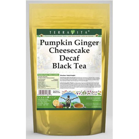 Pumpkin Ginger Cheesecake Decaf Black Tea (25 tea bags, ZIN: 539408) - 2-Pack