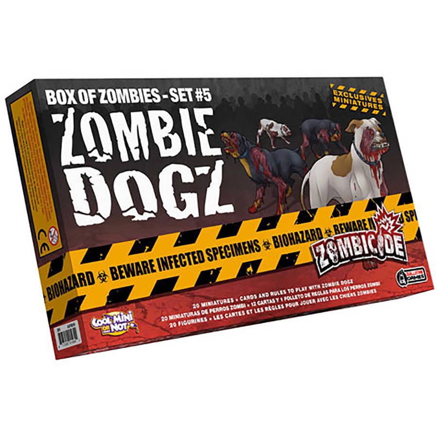 Zombicide Zombie Dogs Box of Zombies, Set 5