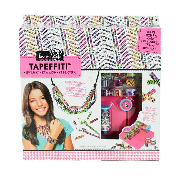 Fashion Angels Tapeffiti Bead Jewelry Making Craft Set Walmart Com Walmart Com