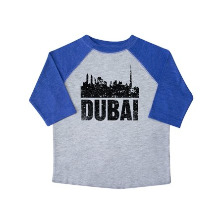 Dubai City Skyline with Grunge Toddler T-Shirt