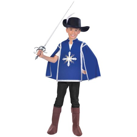 Royal Musketeer Child Costume (Large) (Musketeer Costume Men)
