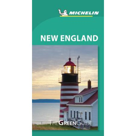 Michelin Green Guide New England - Paperback (Green Guides)