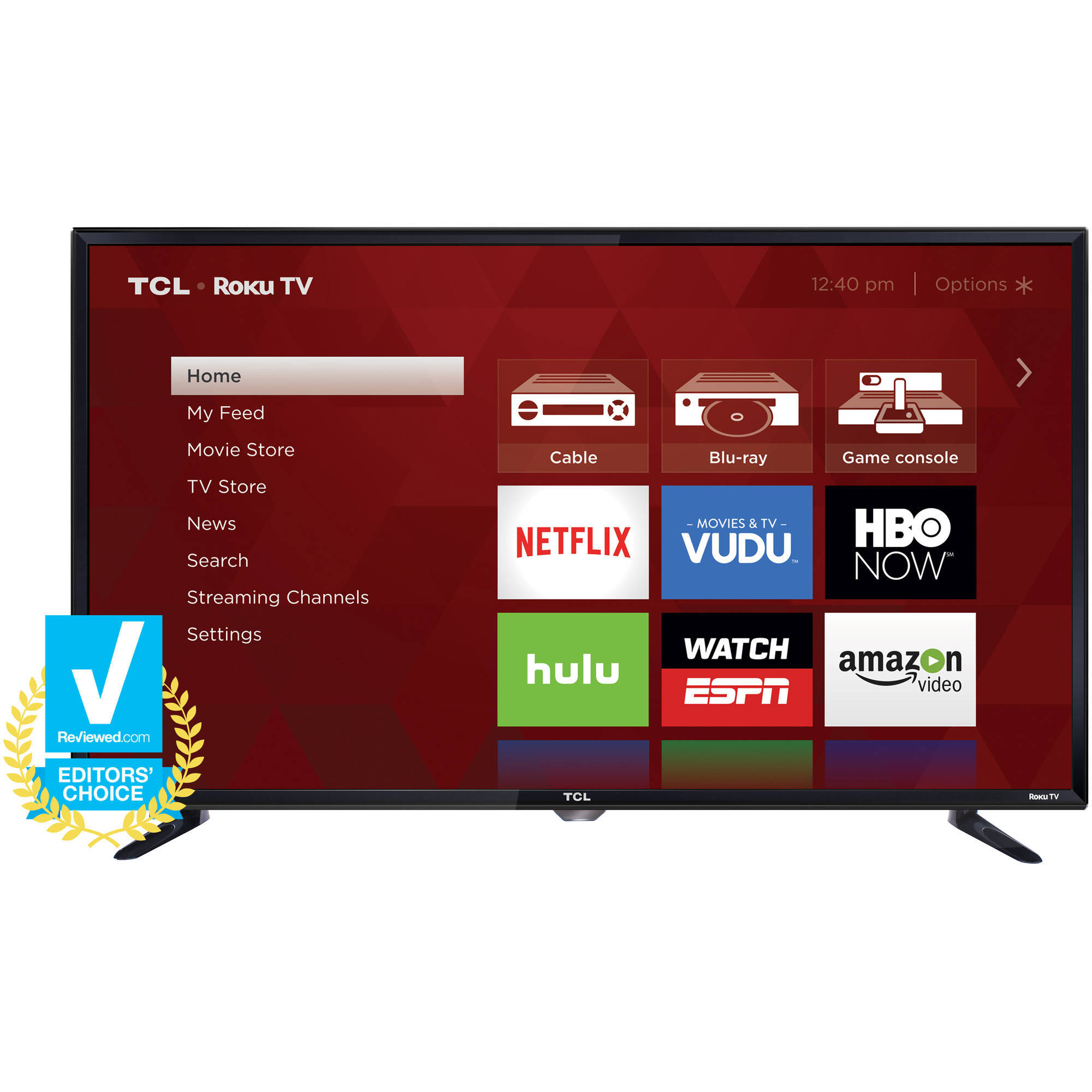 Roku Wiring For Dish Network Wire Center Home Diagram Tcl 32s3750 32 720p 60hz Smart Led Hdtv Walmart Com Rh Cable