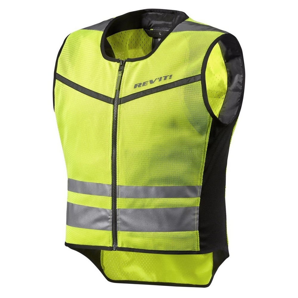 Rev'It Athos Air 2 Mens Textile Vest Neon Yellow