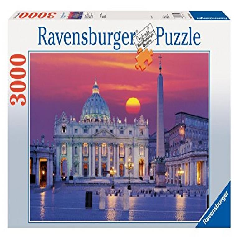 Ravensburger St. Peter's Cathedral, Rome 3000 Piece Puzzle by