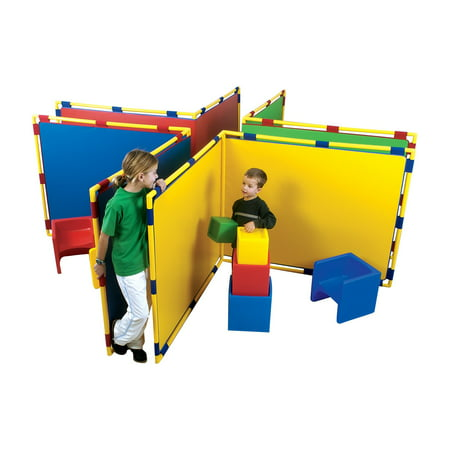 Angle Divider - Children's Factory Big Screen Right Angle Room Divider