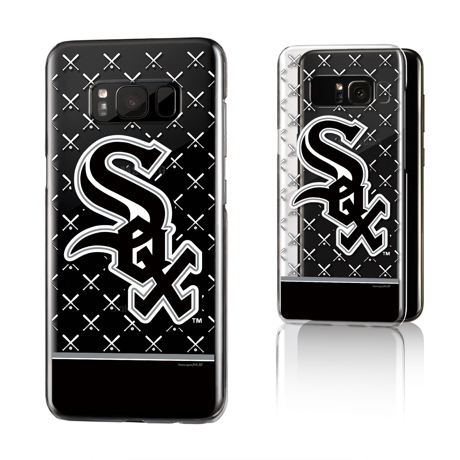 Chicago White Sox Clear Case for the Galaxy S8 MLB