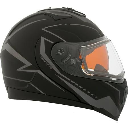 Double Helmet - CKX Vision Tranz 1.5 RSV Modular Helmet, Winter Double Shield