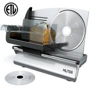 Best Electric Bread Slicers - Food Slicer, MLITER Electric Food Slicers for Home Review