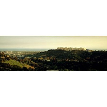 High angle view of a city Santa Monica Los Angeles County California USA Canvas Art - Panoramic Images (18 x 6) (Party City Santa Monica)