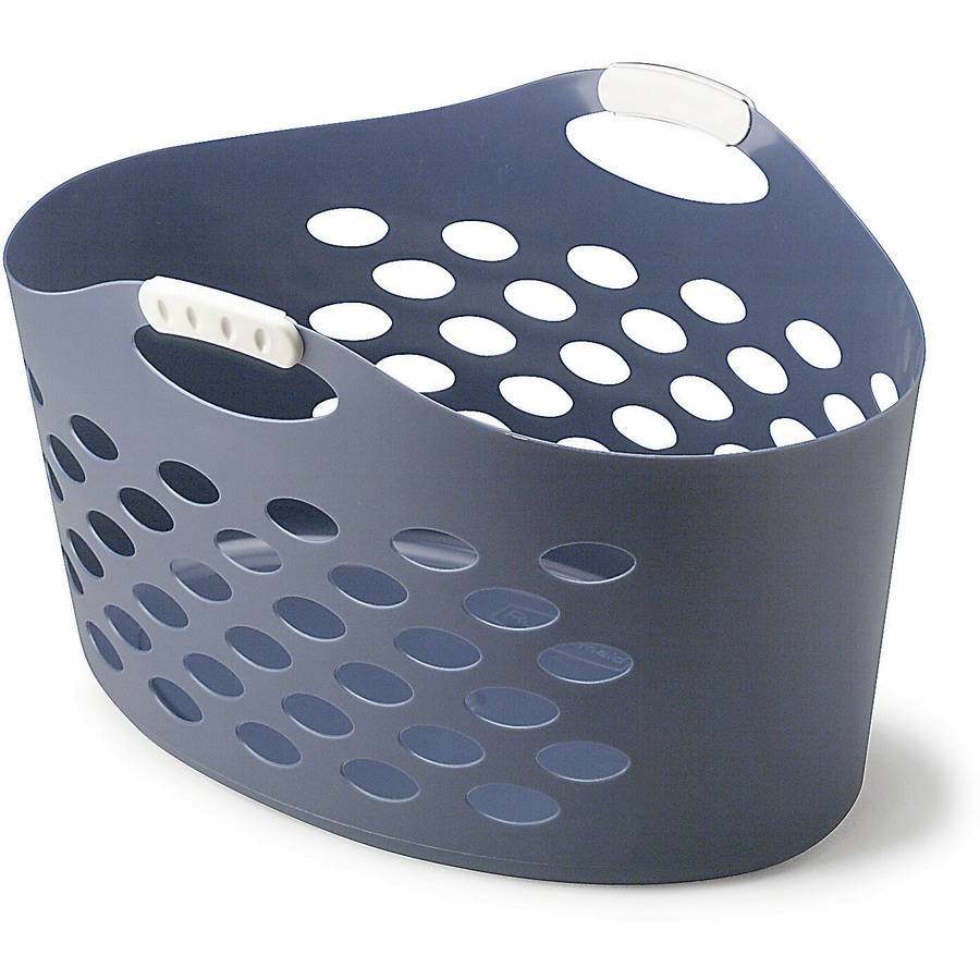 Rubbermaid Flex'n Carry Basket, Royal Blue