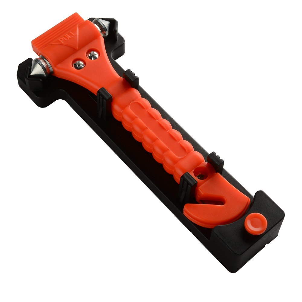 Auto Car Safety Emergency Hammer Escape Tool Survival Kit Window Punch Breaker Seatbelt Cutter
