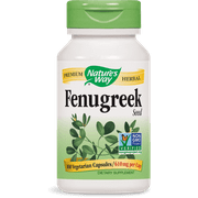 Nature's Way - Fenugreek Seed 610 mg 100 Capsules FENUG Exp.2.18+ SD