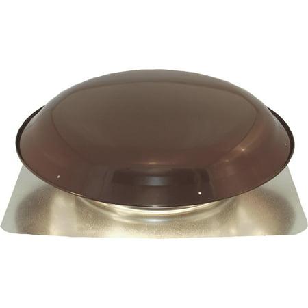 Ventamatic Heavy-Duty Galvanized Steel Dome Power Roof Mount Attic Vent