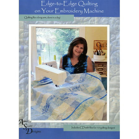 Edge-to-Edge Quilting on your Embroidery Machine -