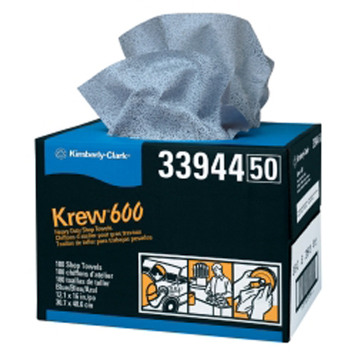 Kimberly Clark 33944 Krew 600 HD Towels 12x 16 3/4Twin Pop-Up
