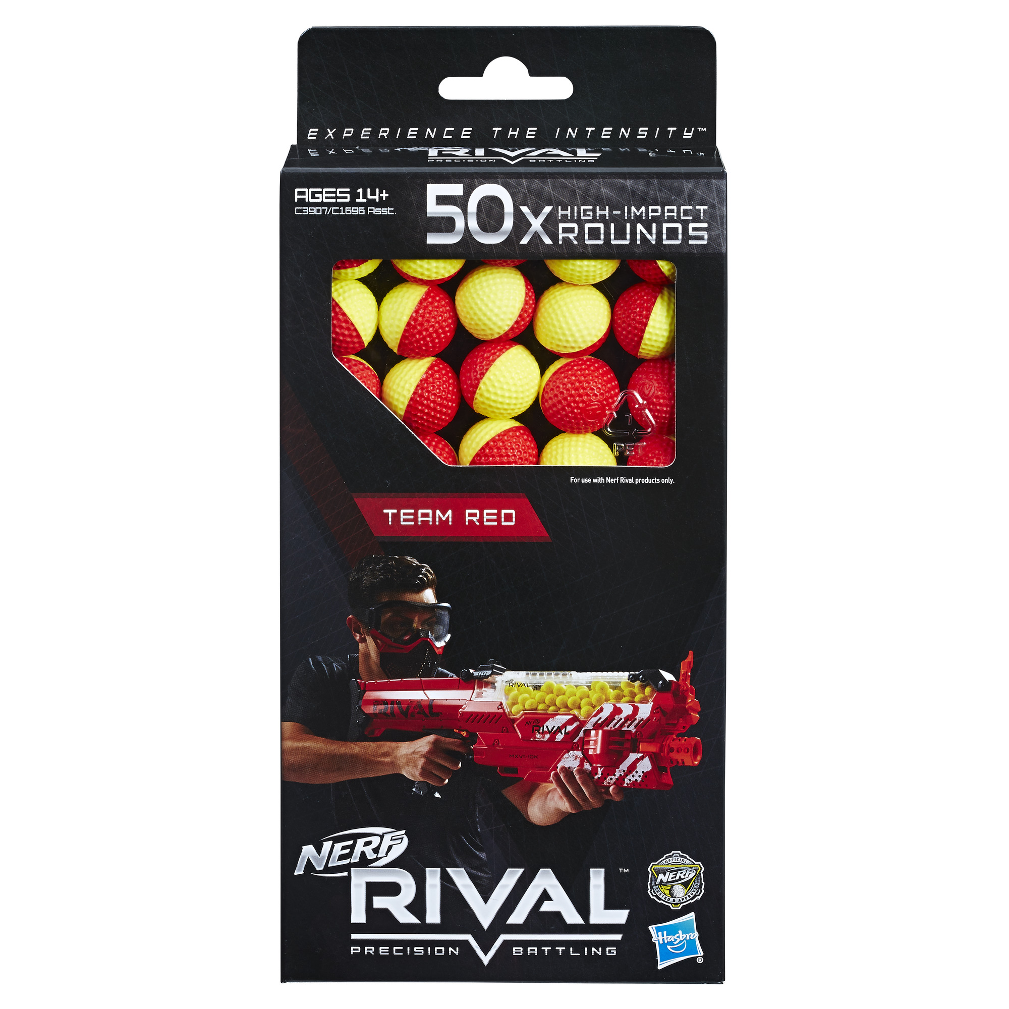 Nerf Rival 50 Round 2 Color Refill - Red