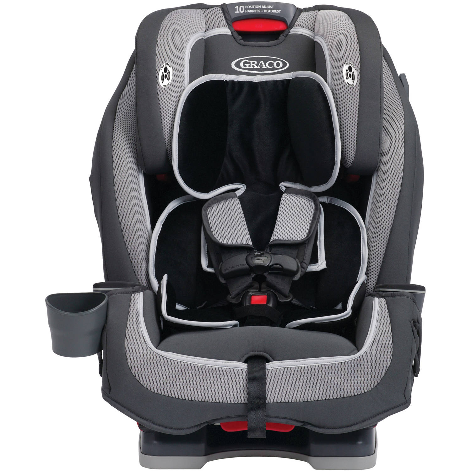 Graco Milestone All-in-One Car Seat Convertible Car Seat, Kline