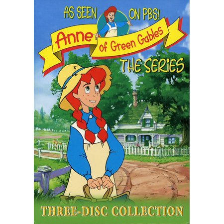Anne Of Green Gables The Animated Series Volumes 1 3