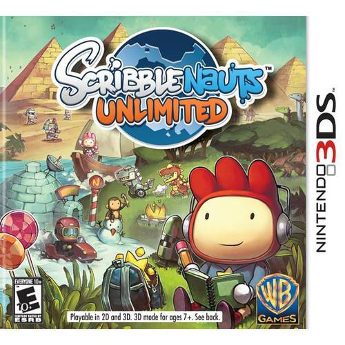 Scribblenauts Unlimited (Nintendo 3DS)