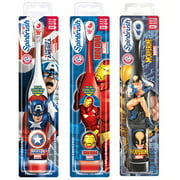 Arm & Hammer Spinbrush Kids Powered Marvel Heroes Toothbrush, (Character will vary) 1ct