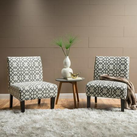 highland dunes veranda slipper accent chair set of 2 walmart com
