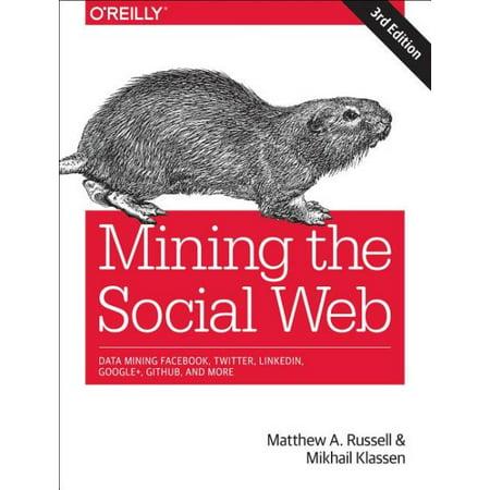 Mining The Social Web   Data Mining Facebook  Twitter  Linkedin  Google   Github  And More