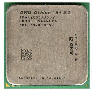 ADA4200DAA5BV - ATHLON 64 X2 4200 939 PIN DUAL CORE - image 1 de 1