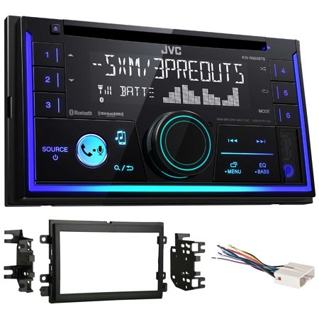 JVC Stereo CD Receiver w/Bluetooth/USB/iPhone/Sirius For 2005-2006 Ford Mustang