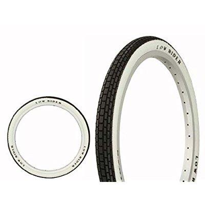 tire duro 20 x 1.75 black/white side wall lowrider raised letter hf-120a. bicycle tire, bike tire, lowrider bike tire, lowrider bicycle tire, bmx bike tire, chopper bike tire