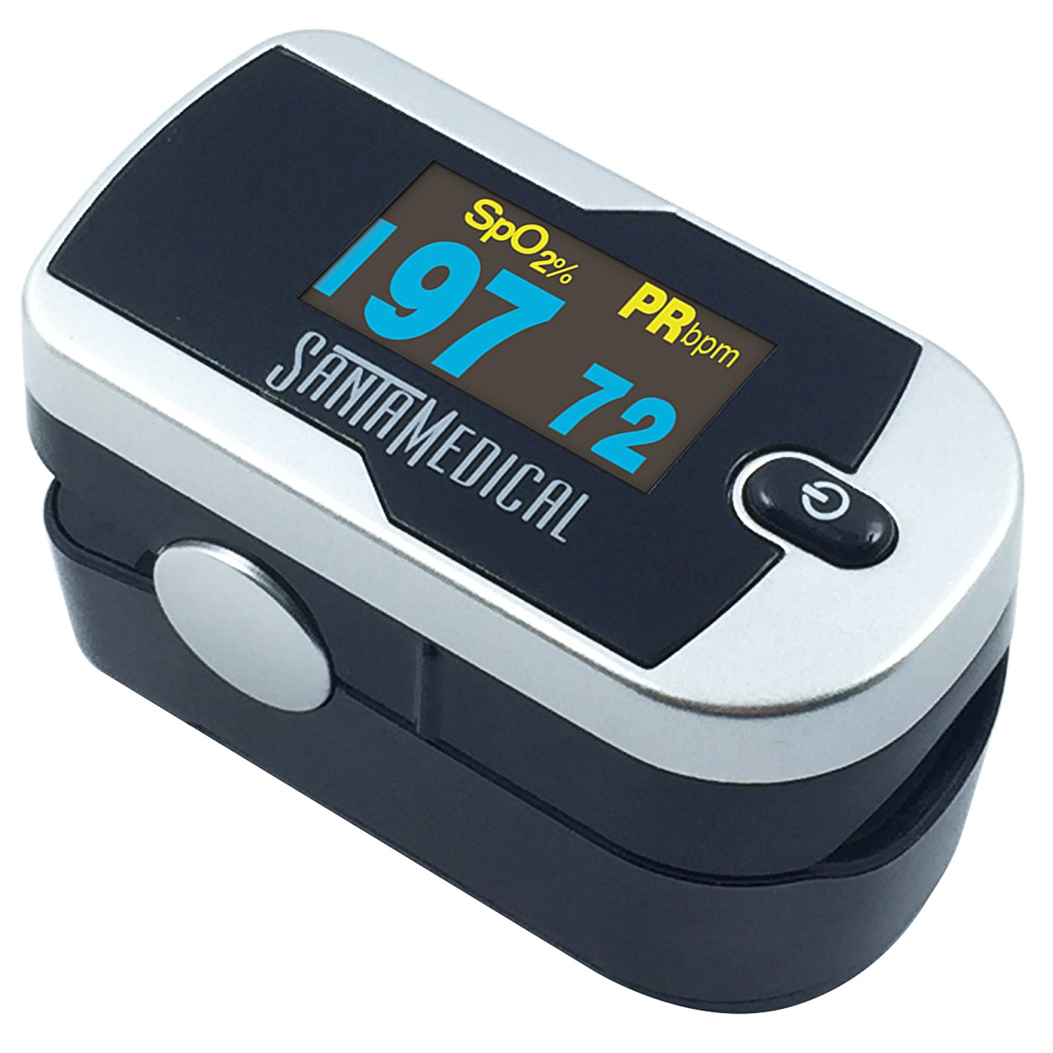 Santamedical SM-1100S OLED Finger Pulse Oximeter