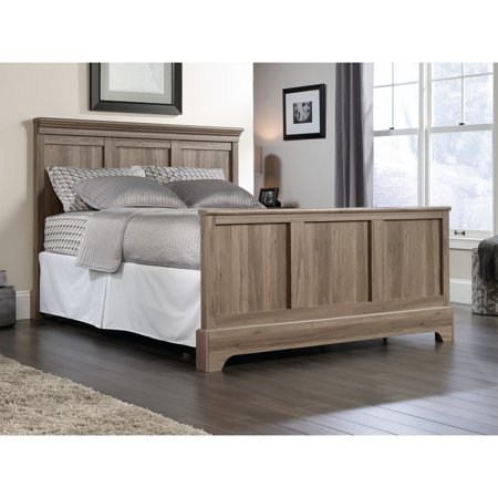 Sauder Barrister Lane Queen Headboard, Salt Oak Component