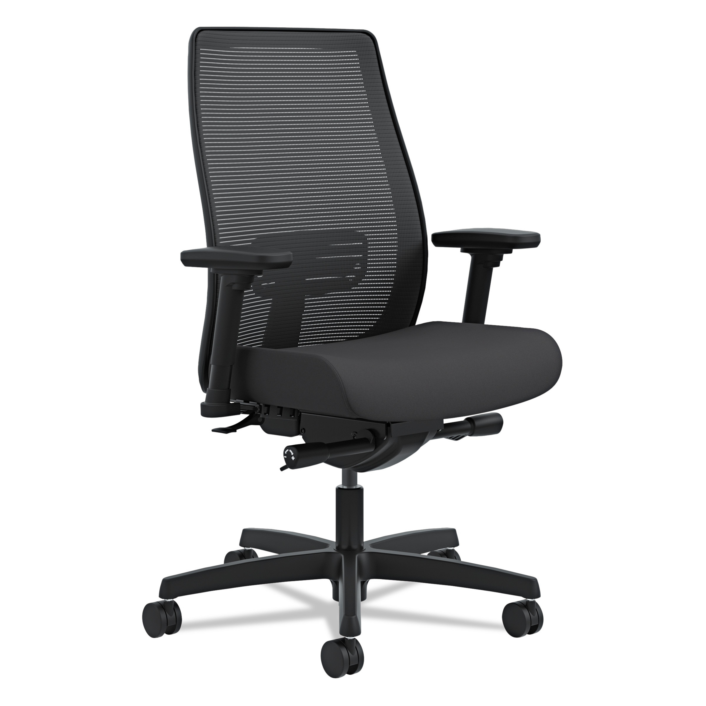 HON Endorse Mesh Mid Back Work Chair Black Walmart
