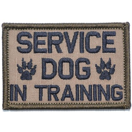 Service Dog Patch (Service Dog In Training - 2x3 Patch )