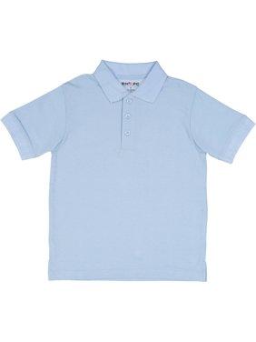 Beverly Hills Polo Club Boys School Uniform Short Sleeve Pique Polo (Little Boys & Big Boys)
