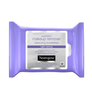 Neutrogena Makeup Remover Night Calming Cleansing Face Wipes, 25 ct