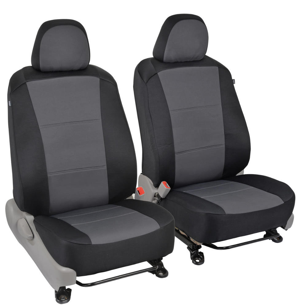Custom Fit Seat Covers for Toyota Camry 2012-15 - Polyester Cloth (Black)