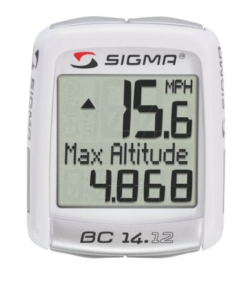 Sigma Sport Bc14.12 14 Function Bicycle Computer With Altimeter by Sigma