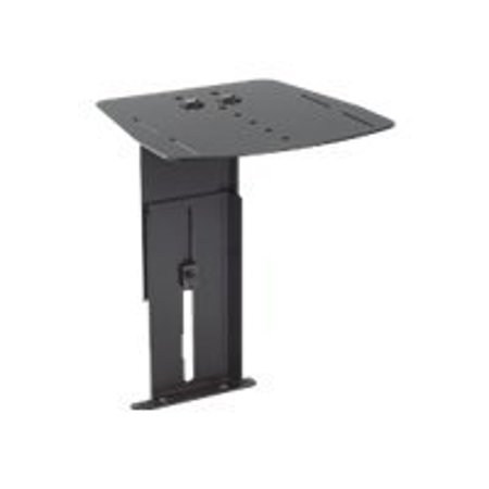 Chief PAC715 - Mounting component (shelf) for video conference camera - black - for Chief MF1, MFCUB, MFCUB700; MFC Series MFCUS700; Universal Flat Panel Floor Stand MF1U