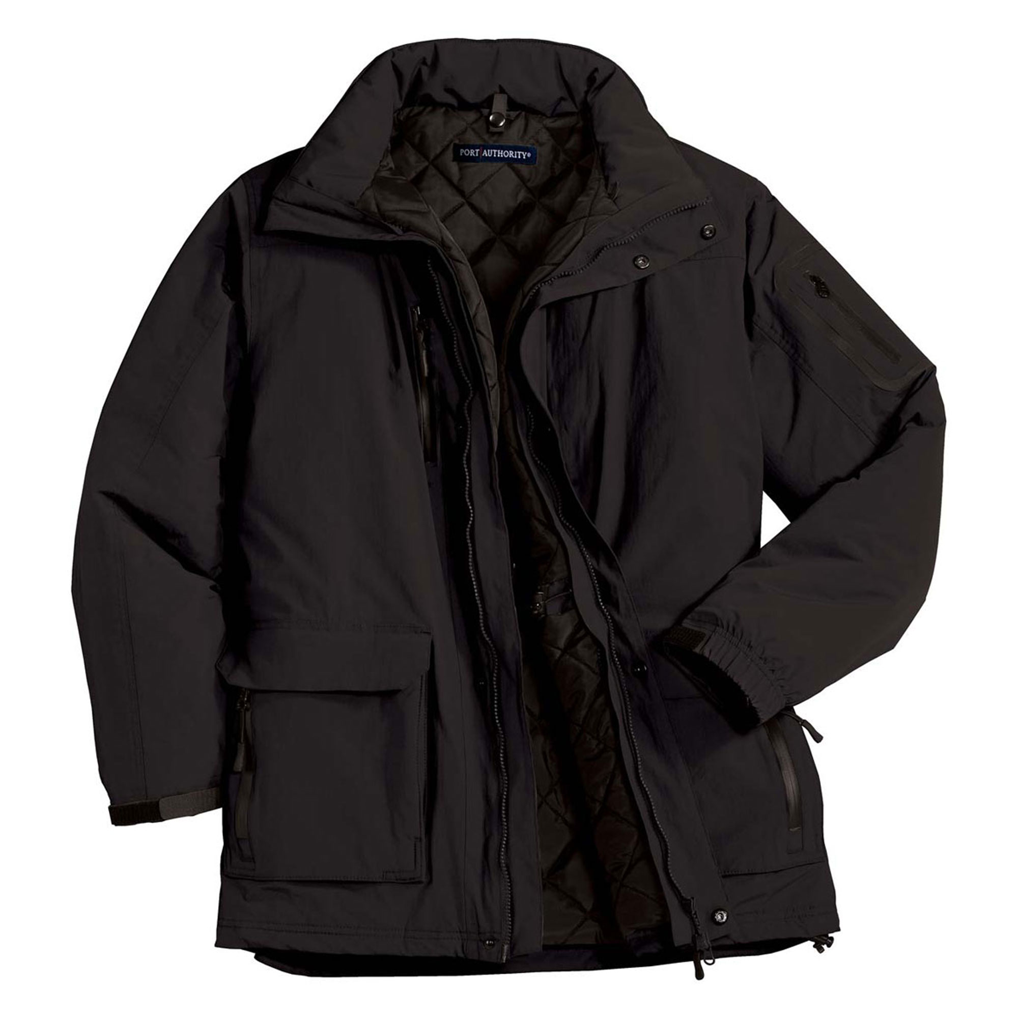 Port Authority Men's Waterproof Heavyweight Hooded Parka by Port Authority