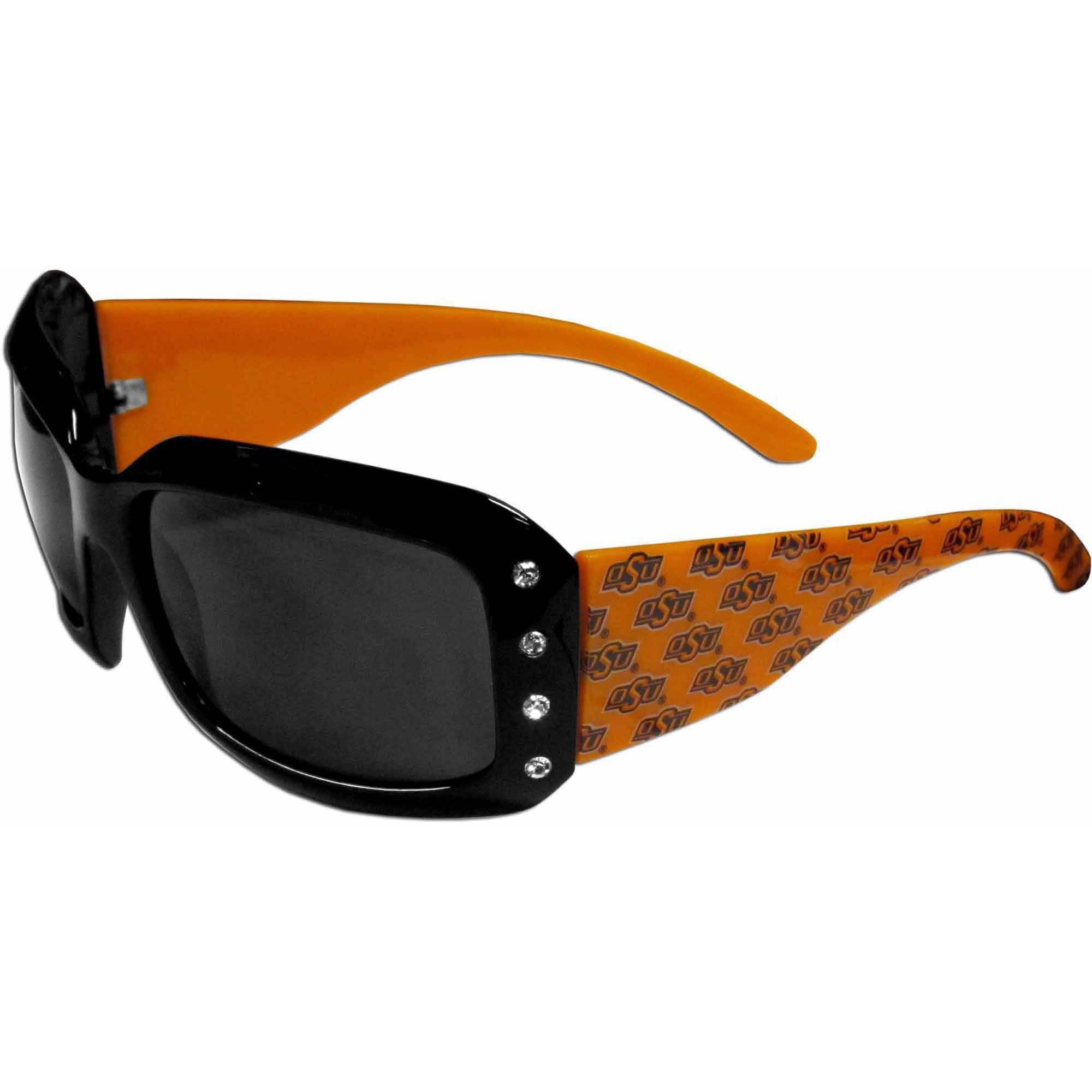 NCAA Oklahoma State Women's Rhinestone Designer Sunglasses