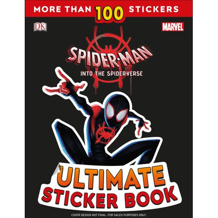 Marvel Universe Book - Ultimate Sticker Book: Marvel Spider-Man: Into the Spider-Verse