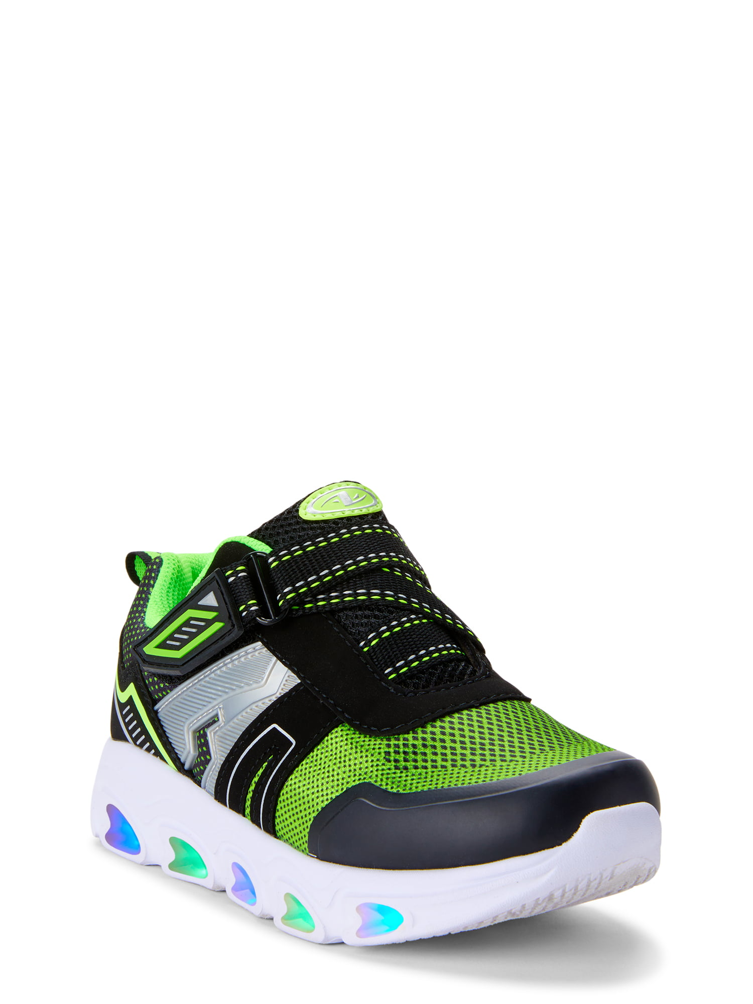 Athletic Works Neon Light Up Sneaker