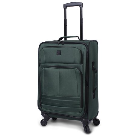 "Protege 21"" Elliptic 4-Wheel Light Weight Spinner Luggage, Green"