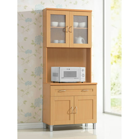 Hodedah HIK92 Kitchen Cabinet