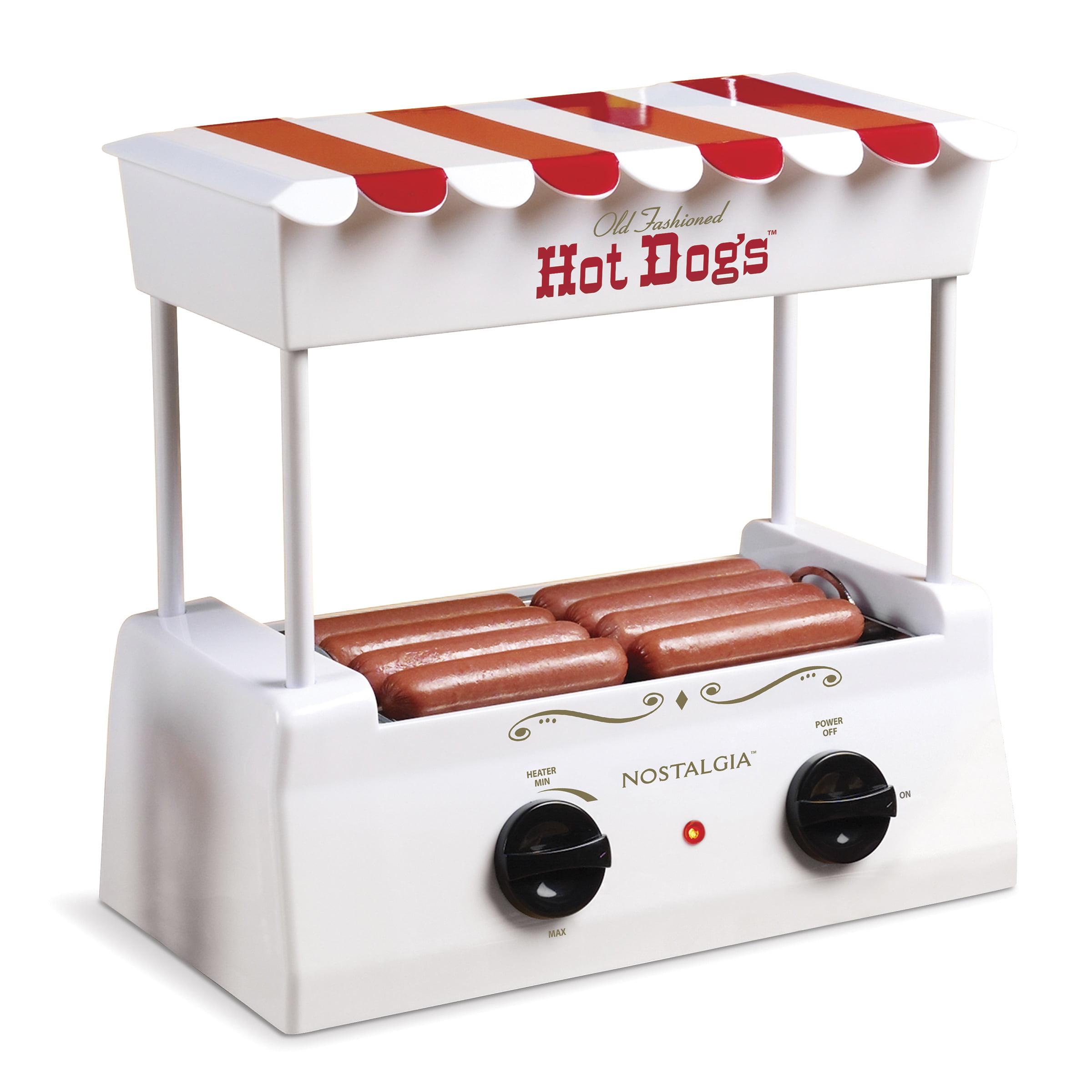Nostalgia HDR565 Hot Dog Roller and Bun Warmer